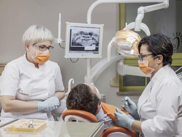 zabieg dentystyczny
